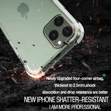 Transparent Shockproof Soft Silicone Case for iPhone 12 Pro / Max Case
