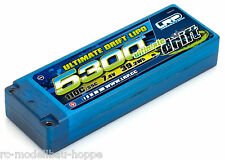 LRP LiPo Ultimate Drift HARD CASE 5300 - 110c-55c – 7,4V 430209