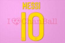 Messi #10 2011-2012 Barcelona Homekit Nameset Printing