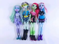 Mattel Monster High Doll 11'' Fully Dress+Shoes+Accessories-Lot of 4