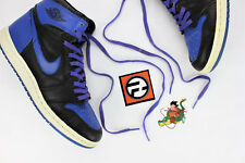 1985 Nike Air Jordan Black Royal Blue 1's Size 9.5