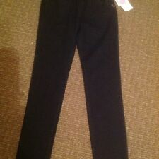 Roxy Girls Size 16 Super Skinny Elasic Waist Black Jean NWT