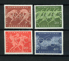 ALEMANIA/RFA WEST GERMANY 1960 MNH SC.813/816 Olympic Games Rome