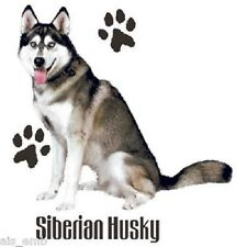 Siberian Husky Dog T Shirt HEAT PRESS TRANSFER for Shirt Sweatshirt Fabric #911