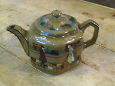 1925 Buffalo Pottery Deldare Ware Tea Pot