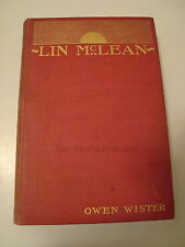 Lin McLean by Owen Wister First Edition (1897, Hardcover)