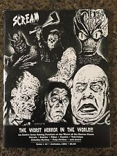 The Scream Factory #10 The Worst in Horror - plus The Frankenstein Horror Series
