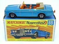 Matchbox Superfast No.69c Rolls-Royce Silver Shadow In Type 'G2' With 'NEW' Box
