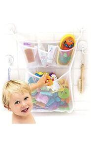 Original Tub Cubby Bath Toy Storage - Hanging Bath Toy Holder, with Suction  Ad