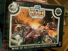 Babylon 5 Wars War Of Retribution Update Book Narn Centauri War