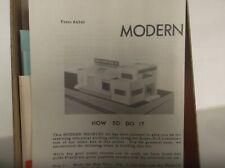 SUYDAM MODELS Modern Industry   Kit  NR !!