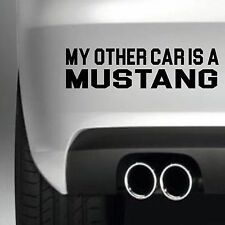 STICKER FORD MUSTANG AUTO USA CAR CARTE CREDIT BANCAIRE CARD AUTOCOLLANT CC115