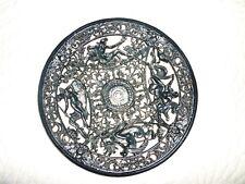 19TH CENTURY COALBROOKDALE  CAST IRON PLATE CIRCA 1880