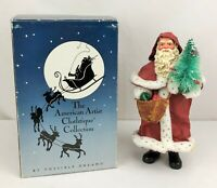 Vintage 1990 Clothtique Possible Dreams FATHER CHRISTMAS Figure w/ Box 15007