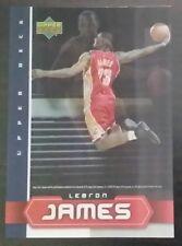 Lebron James card 5x7 hologram oversized 2003 Upper Deck Magazine