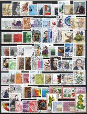 ALLEMAGNE - lot de 80 timbres oblitérés et différents - LOT 1.