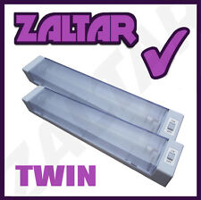 12V TWIN FLUORESCENT STRIP LIGHT AWNING CAMPING TENT