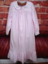 Egyptian Cotton Nightgown and Robe Set Pink Womens Small-Medium Cypress Vintage