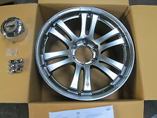 FORD RANGER WHEELS SILVER COMPLETE  WITH CHROME  CAPS & CHROME WHEEL NUTS  X 4