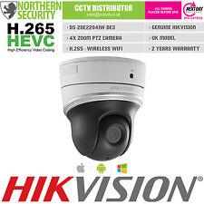 Hikvision H.265 MINI PTZ 2MP 1080P IR POE Wifi Mic 4x Zoom P2P IP telecamera CCTV