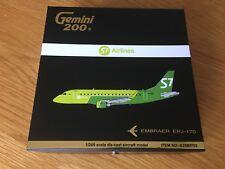 S7 SIBERIA AIRLINES Embraer ERJ-170 Gemini Jets Model 1:200 NEW LIVERY G2SBI702