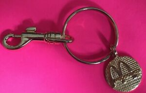 NEW IN BAG McDONALD'S COLLECTIBLE KEY RING GOLDTONE