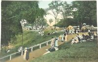.RARE VIEW / EARLY 1900s SANDGATE, QLD MOORA PARK RETRAC SERIES POSTCARD.
