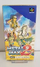 SNES / Super Famicom Spiel - Metal Max 2 (JAP) (mit OVP) +Anleitung  A1409