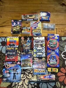 Lot Of (20) NASCAR DIECAST Cars Hot Wheels Racing Champ Bobby Labonte & More VTG