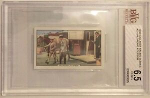 Unloading At Epsom 1938 Gallaher Racing Scenes Tobacco Card #23 - BVG 6.5 EX-MT+