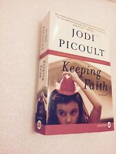 Keeping Faith by Jodi Picoult~LARGE PRINT LARGE SOFT COVER~EXCELLENT~