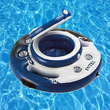 "Intex Mega Chill Inflatable Floating Cooler 35"" Diameter Brand New Fast Shipping"