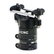KCNC AL7075 ISP Majestic Seat Clamp 34.9/50mm Zero offset w/Ti Bolt, Black