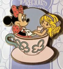 Disney Pin 76521 Minnie Mouse Precious Moments - Mad Tea Party Noc pin