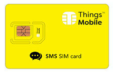 SIM Card Things Mobile per SMS con 10 € di credito incluso