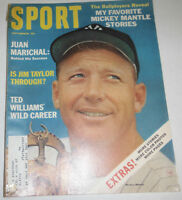 Sport Magazine Juan Marichal & Mickey Mantle September 1964 072814R