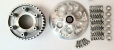 DUCATI PRESSURE PLATE INNER HUB KIT 6 SPEED ENGINE SILVER ANODIZED