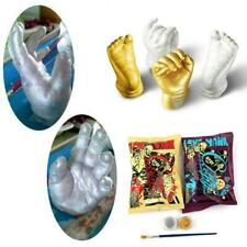 3D Plaster Handprint Footprint Baby Mould Hand&Foot Kit Casting Prints H7H0