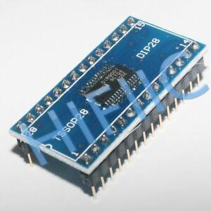 1PCS DIR9001PW IR9001 ON SOIC28 to DIP28 PCB