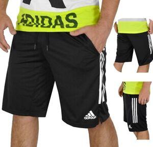 Adidas Tango Shorts Herren Sport Hose kurz Bermuda Laufhose Fußball schwarz/weiß