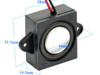 995200006 DCC Supplies 52mm L x 18mm W x 14mm H 8ohm Bass Reflex Speaker