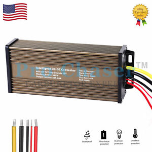 Golf Cart Voltage Reducer Converter 48 to 12v Step Down at 30 amp