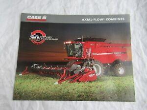 Case CASEIH 7010 8010 2588 2577 combine  brochure