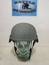ORIGINAL US ARMY ISSUE ACH MICH HELMET BAE Systems Large with OCP Cover& Pads