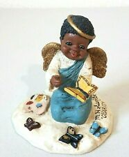 Vintage Martha Holcombe African American Charity #87 Figure All God's Children