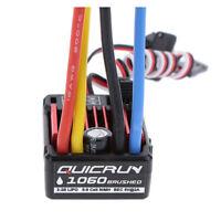 Hobbywing Quicrun Brushed Waterproof Motor ESC Controller 60A 1060 1/10 RC P7R6