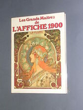 Bibliographie Affiche les grands maîtres de l'affiche 1900 repro couleurs 1987