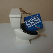 Toilet birdhouse Bird Feeder Gag Gift