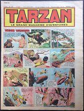 TARZAN Éditions Mondiales n°240 du 28 avril 1951 Très bon état non découpé