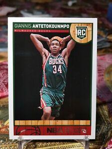 GIANNIS ANTETOKOUNMPO 2013-14 PANINI NBA HOOPS ROOKIE #275 BUCKS RC